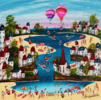 baloons-over-harbour-chris-bell