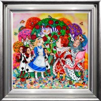 kerry-darlington-alice-in-the-rose-garden-silver-frame